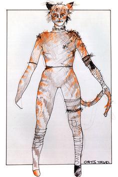Rumple basic (unlabelled) - original costume design, John Napier 1981