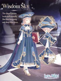 Anime Outfits, Cool Outfits, Princess Jellyfish, Nikki Love, Beautiful Anime Girl, Kawaii Girl, Kawaii Anime, Anime Style, Fashion History