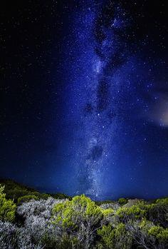 Milky Way - Piton de la fournaise, Indian ocean