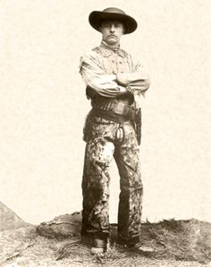 Teddy Roosevelt-----This circa 1885 photo of the young Roosevelt shows him after he had a bit of seasoning by hunting and trail-riding in the West. At age 27, though he wasn't quite the robust, filled-out, plains-tested rough-rider he would be a few years later after immersing himself in the struggles of running a ranch. He was forever grateful and forever friends with Seth Bullock of Deadwood fame, and with the other westerners whose tutelage and support helped him survive and grow as a man...