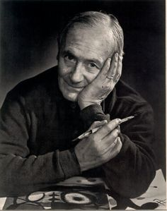 """Joan Miró à la galerie Maeght (Paris), 1965 -by Yousuf Karsh """" Although he painted his inner fantasies with the brightest colors, the great Surrealist arrived at Galerie Maeght self-effacing and. Photo Portrait, Portrait Photography, Famous Artists, Great Artists, Joan Miro Pinturas, Yousuf Karsh, Hieronymus Bosch, Spanish Painters, Jackson Pollock"""