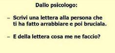 """Eseguire """"alla lettera""""!Fiorella"""