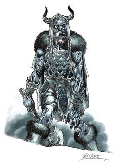 Zombie Viking - Rodney Buchemi