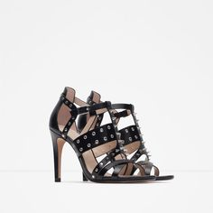 Image 2 of STUDDED SANDALS from Zara