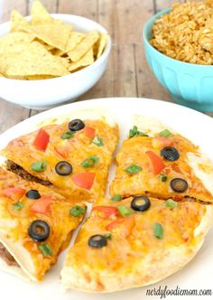 Mexican pizza recipe - great for those lazy weekend days when you want something�