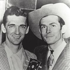 Carl Smith and Hank Williams.