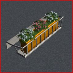 Mod The Sims - FLOWER BOX for Balconies and Fences - UPD 08August2007