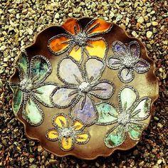 #ceramic #ceramics #seramik #ceramica #keramik #keramiikka #clay #earthenware #bowl #plate #colourful #flower #decoration #handmade #handbuilt #unique #art #clayart #pottery #savipaja #sariske #beautiful #cute #centerpiece #tableware #homedecor #decor #design #instalike #instadaily