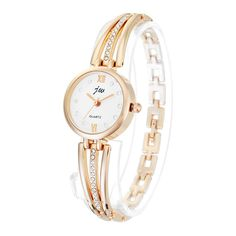 JW 3512 Fashion Round Dial Rhinestones Alloy Lady Bracelet Bangle Women Dress Quartz Watch at Banggood Body Jewelry, Jewelry Sets, Jewelry Watches, Women Jewelry, Jewellery, Bangle Bracelets, Bracelet Watch, Wearable Device, Watch Women