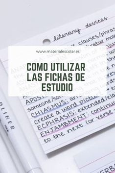 Study Techniques, Study Methods, Study Apps, Medicine Notes, Spanish Teaching Resources, Business Studies, School Study Tips, Study Journal, School Notes