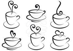 coffee cup clip art - Google Search                                                                                                                                                     Más