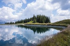 This lake is on a mountain near Soll in the Austrian Tyrol