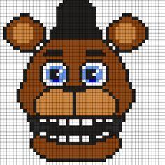Kandi Patterns for Kandi Cuffs - Characters Pony Bead Patterns Pony Bead Patterns, Kandi Patterns, Peyote Stitch Patterns, Perler Patterns, Beading Patterns, Pixel Art Templates, Perler Bead Templates, Perler Bead Art, Perler Beads