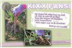 KIXX vindt het leuk om foto's van fans te ontvangen. Deze kregen we van Corette! www.kixx-safety.nl  #tuinhandschoenen #tuin #garden #gloves