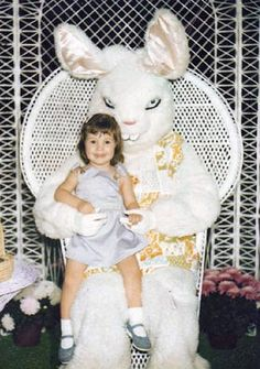 The Sinister Bunny. Website has more funny Easter Bunny pictures.