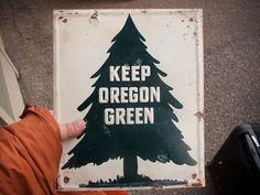 Keep Oregon green.... Um, yep, that's my brothers hand!! Another pinner wrote: draplin found #campvibes #polerstuff #poler