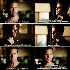 Everytime Alaric calls Damon his best friend I die from Dalaric feels.