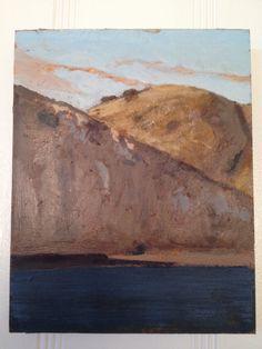 """ Yellow Banks,"" Santa Cruz Island, Garrett Speirs, 2010"