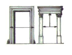 jamba es la moldura perimetral en un vano que vendran siendo una puerta o