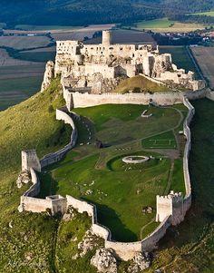 spišský castle, spiš, slovakia