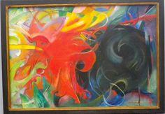 Franz Marc, Fighting Forms (1914), Neue Pinakothek, Munich.