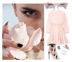 """""""date outfit"""" by cristina-mihaela-gabriela-oprea on Polyvore featuring Giuseppe Zanotti and Jimmy Choo"""