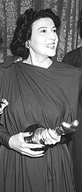 """Katina Paxinou - Best Supporting Actress Oscar for """"For Whom the Bell Tolls"""" 1943"""