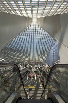 Liège-Guillemins station by Santiago Calatrava - Dezeen