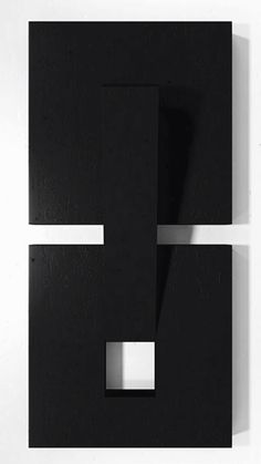 Black and white geometric piece Black Artwork, Contemporary Artwork, Abstract Sculpture, Wood Sculpture, Abstract Painters, Abstract Wall Art, Turkish Art, Minimalist Art, Geometric Art