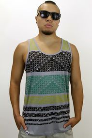 Peoples Republic of Clothing The Horizon Tank in Grey 18