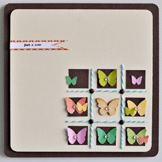 Mister Huey's Color Mists on cardstock butterflies. Might use something like this as inspiration for thank you cards for Graecyn's birthday
