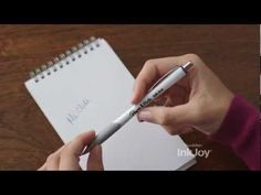Paper Mate says their new InkJoy pins will be the world's most stolen pens - cute advertising, this video makes me want to try one #PaperMateBTS