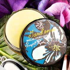 A solid perfume you can stash in your purse. The Soap and Paper Factory, 18 bucks Beauty Secrets, Beauty Tips, Beauty Hacks, Travel Size Perfume, Paper Factory, Perfume Packaging, Solid Perfume, War Paint, Post Workout