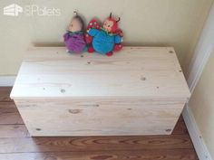 Caisses De Rangement / Pallet Storage Boxes Pallet Boxes & Chests
