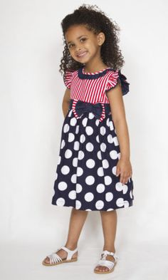Smart Casual Wear For Girls. Beautiful smart casual dresses for girls from ages 2 to 12 years. Comfortable to wear and great looking dresses. Smart Casual Wear For Girls, Girls Casual Dresses, Dot Dress, Cotton Dresses, Polka Dot, Kids, How To Wear, Beautiful, Fashion