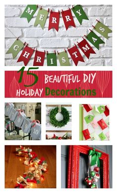 The holidays are just around the corner. It's almost time to dig out all the decorations and enjoy the fun memories the evoke. This year, try your hand at making some of these great pieces to add a personal touch to your home and make new memories! Make them for your own home or give …
