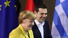 Ao lado de Merkel, Tsipras defende recomeço com Alemanha :: Joaquimdantas