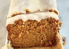 Carrot Cake Loaf Recipe Carrot Cake Bread, Carrot Cake Loaf, Carrot Spice Cake, Loaf Cake, Pie Cake, No Bake Cake, Carrot Cake Recipes, Carrot Cakes, Pound Cake