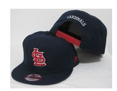 New Era MLB St. Louis Cardinals Snapback Hats Caps Navy 4002! Only $8.90USD