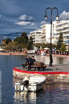 Fishing Buddies in Halkida, Greece