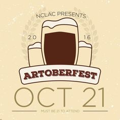 It's almost here! We still have General Admission tickets if you need them. Follow @nclartscouncil.  #homebrew #artoberfest #rustonevents #rustonla #downtownruston #supportthearts