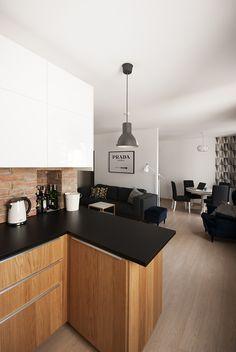 Mieszkanie dla młodych - Projektowanie i aranżacja wnętrz, architekt wnętrz Wrocław   Za murami za dachami
