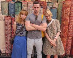 Zoe Kazan, Rightor Doyle and Mamies Gummer