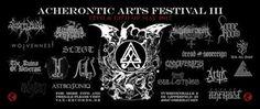 Long Live The Loud 666: ACHERONTIC ARTS FESTIVAL III : 12 TH & 13 TH MAY 2...