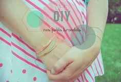 bambichoses: Le bracelet qui avait des nœuds macramés...