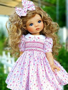 Beautiful Children, Beautiful Dolls, Little Darlings, Puppet, Baby Dolls, Smoking, Doll Clothes, Flower Girl Dresses, My Favorite Things
