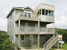 The Playhouse Too, 5 bedroom Ocean View home in Buxton, OBX, NC