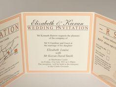 Wedding Invitations Tri Fold