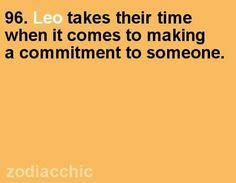 Duh.  Commitment is a big deal and we make sure I'd last.