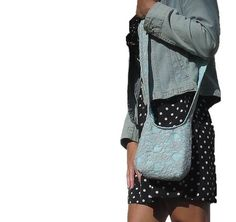 cross body bag extra small essentials bag. design by SmiLeStyles #casualchic #hobobag